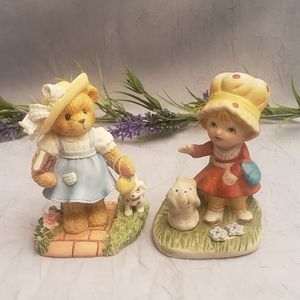Cherished Teddies & HomeCo Figurine